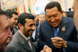 Hugo Chavez, Mahmoud Ahmadinejad